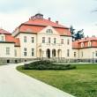Denkmalschutzsanierung Management-Schule fr Deutsche  Kreditbank, Schloss Liebenberg 2001