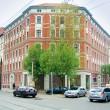 Wohnungsbausanierung (Bremer Hhe) in Berlin Prenzlauer  Berg, erweiterte Rohbau, 2002-2003